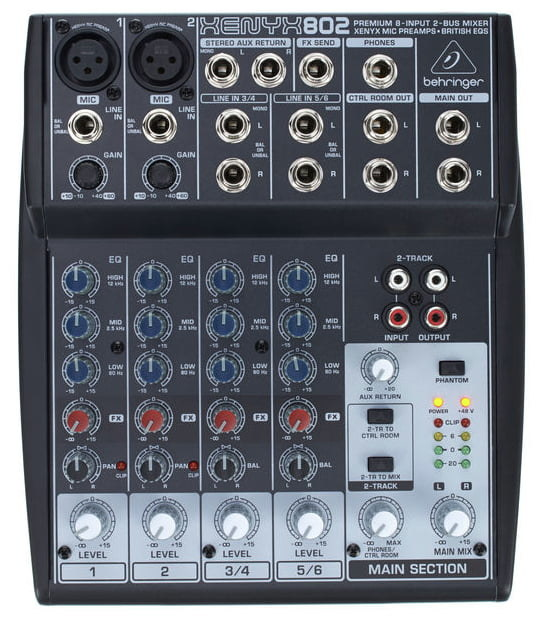 KLARK TEKNIK DI10A Active DI Box with Midas Transformer, Extended Dynamic Range and Phantom/Battery Operation