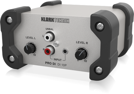 KLARK TEKNIK DS50 Passive 1-In / 5-Out Signal Splitter with Extended Dynamic Range